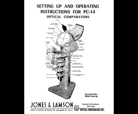 Jones Amp Lamson Pc 14 Operating Instructions Manual Industrial Library