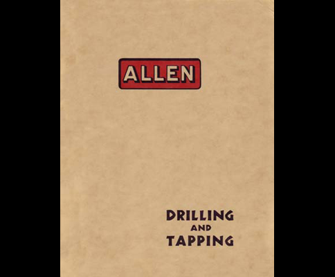 Allen No2 And 25 Drill Press Ops And Parts Manual Industrial Library