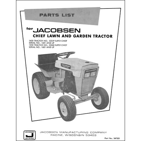 Industrial Library – Jacobsen Chief Wiring Diagram